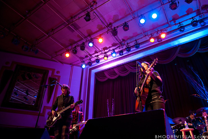 Amy Ray, Tim Hanseroth, and Brandi Carlile perform on February 18, 2010 at Capitol Theatre in Clearwater, Florida