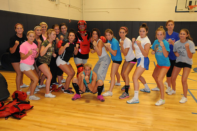 Self Defense with Sue 2013 - RHS Cheerleaders