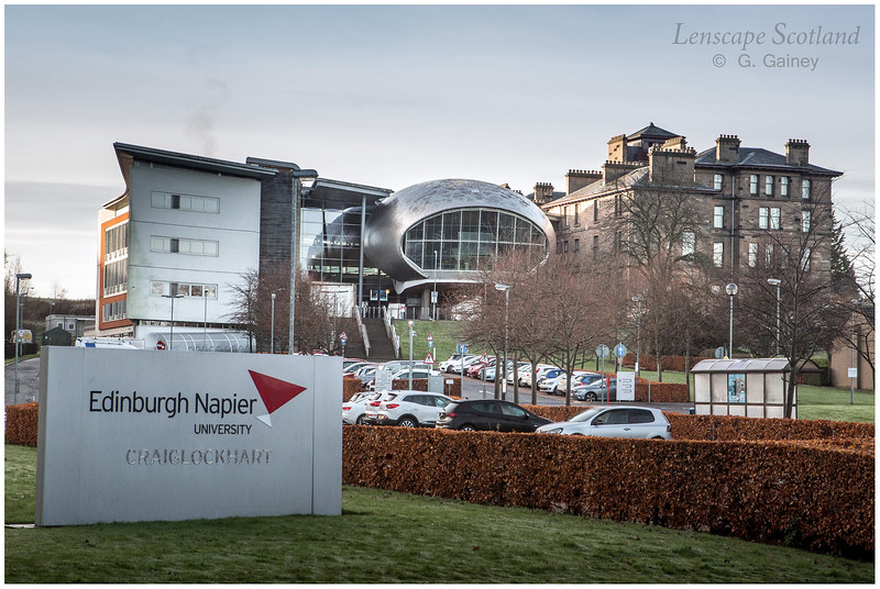 Edinburgh Napier University - Craiglockhart Campus (1)