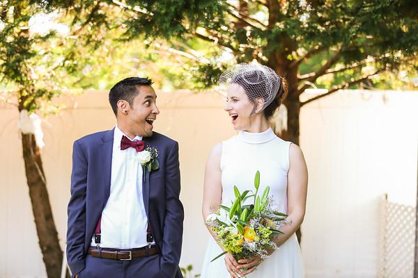 Anca + Kai's Backyard Wedding