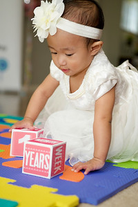 Nina's first birthday
