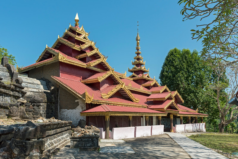 Zina Man Aung Pagoda, Mrauk U