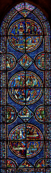 Chartres Cathedral, Saint-Mary Magdalen Window
