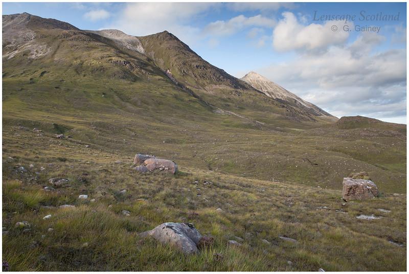 Spidean Coire nan Clach (Beinn Eighe) from Coire Dubh Mor