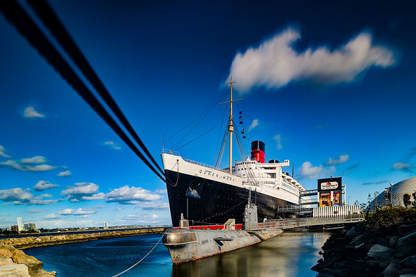 The Queen Mary Cruise Ship