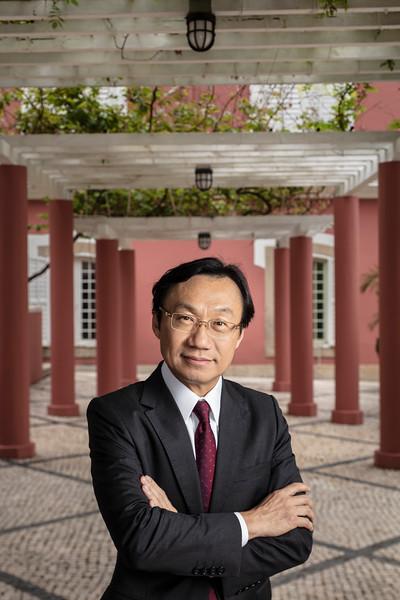 譚俊榮 Tam Chon Weng, Macau Secretary for Social Affairs and Culture