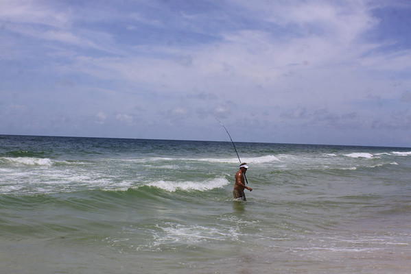The Big Catch! Orange Beach July 2012
