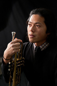 Henry Hung of the Jazz ensemble Alt Tal Jazz Combustion