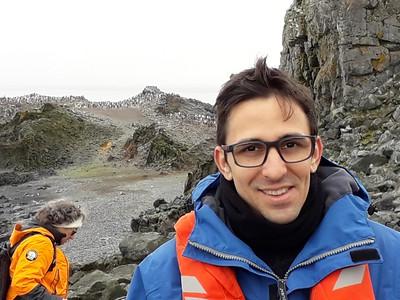 Leandro na Antártica Mar/2019