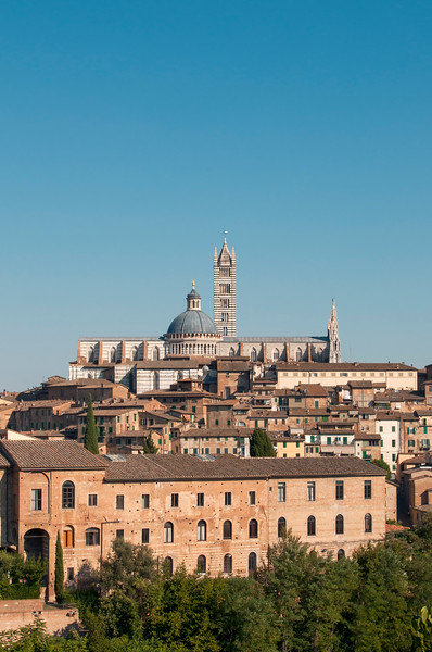 Old Town of Siena with Duomo (Cathedral), Tuscany, Italy