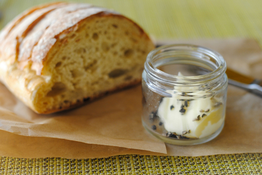 . Bread and butter at Bistro Joe\'s. Photo by Lori Yates