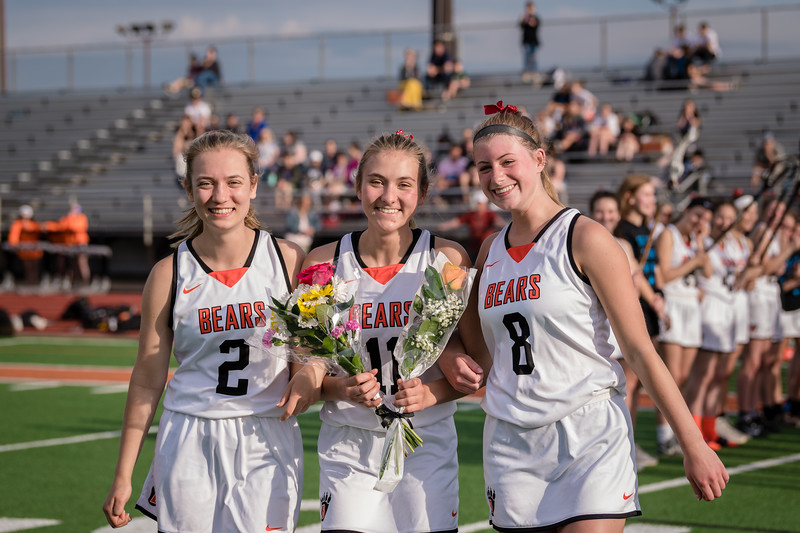 WBL Girls Lacrosse Senior Night 2019