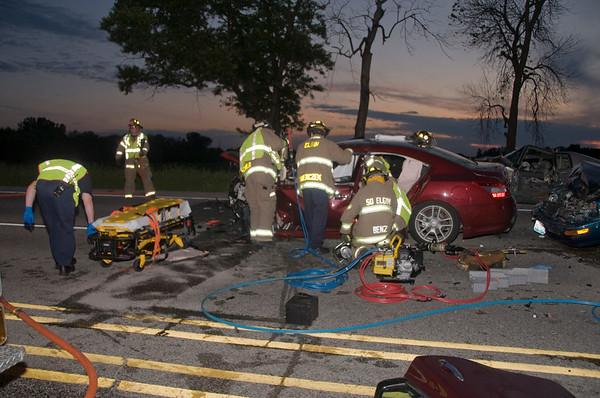 Elgin/South Elgin Extrication crash June 15, 2009
