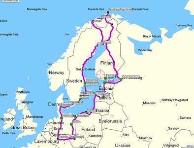 One Lap of the Baltic