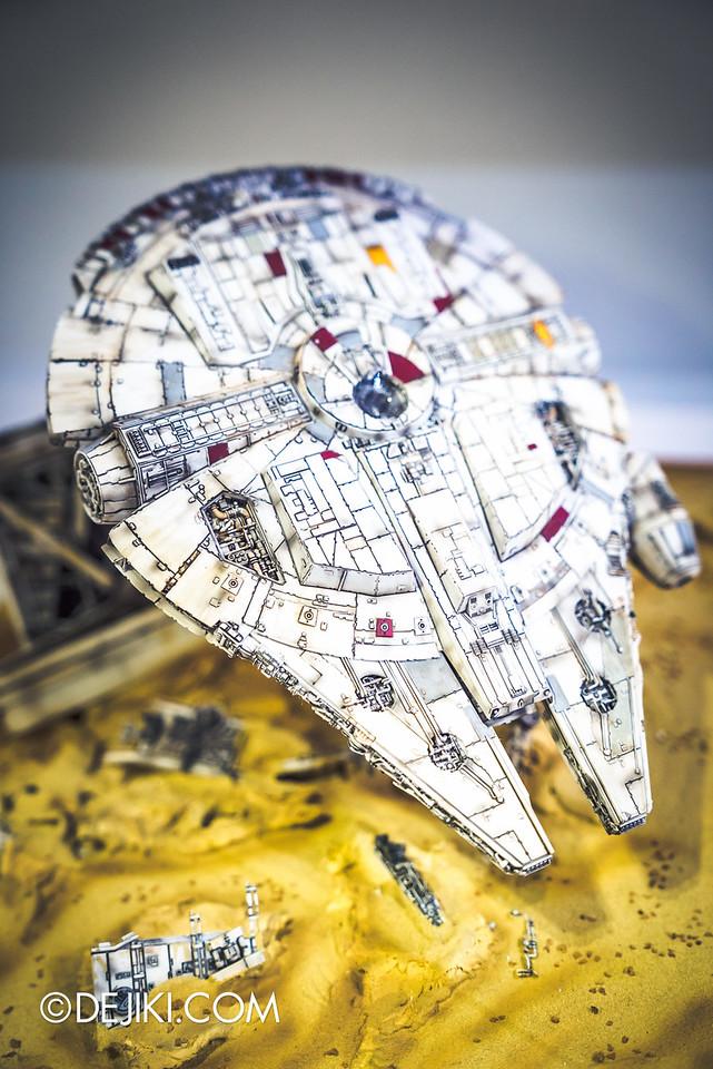 STGCC 2016 - Star Wars Bandai - Millennium Falcon