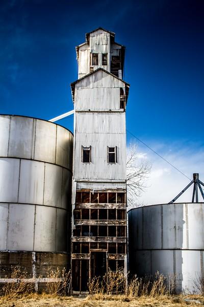 Grain Elevator in Matheson, Colorado