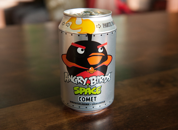Angry Birds Orange Cola