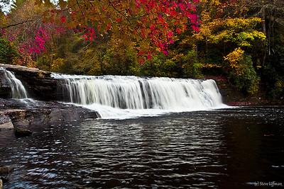 North Carolina Fall Color and Waterfalls