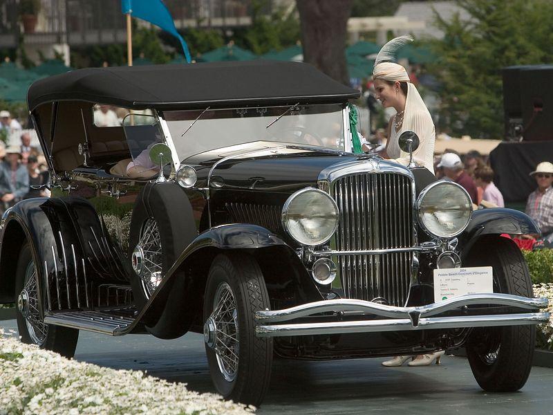 1929 Duesenberg J LeBaron Phaeton. 3rd Duesenberg.  Terence Adderley.