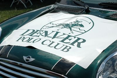 Along with Ralph Schomp MINI, members of MINI5280.org were invited to participate in the festivities of the 2005 Denver Polo Club Invitational. The polo match was held July 9-10, benefitting the Southeast Denver Rotary Foundation Charities and the Kempe Children's Foundation. The MINI Coopers added a bit of British flair to the event, as well as transporting players to/from the field.