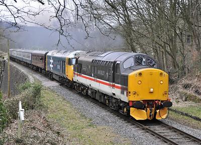 East Lancashire Railway Spring Diesel Gala. 03/03/13.