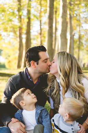 Katie, Tom + Family