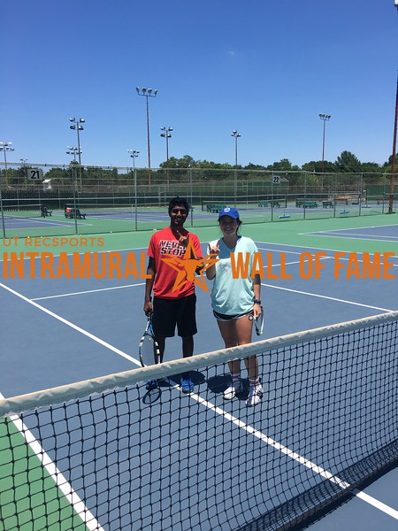 Spring 2017 Tennis Doubles Coed B Champ