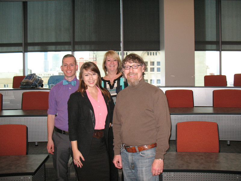This time with SUST prof and program director, Mike Bryson (front L)