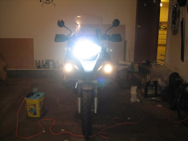 HID Install 2007 R1200GS