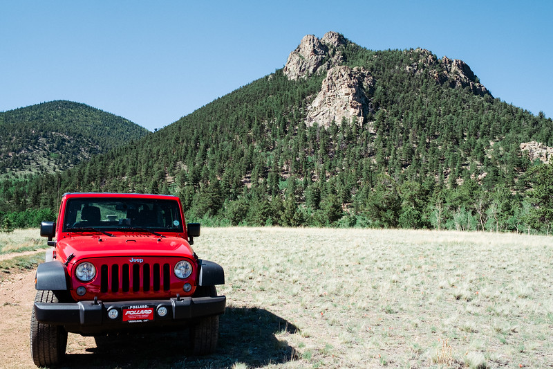 Sunny Day Jeep