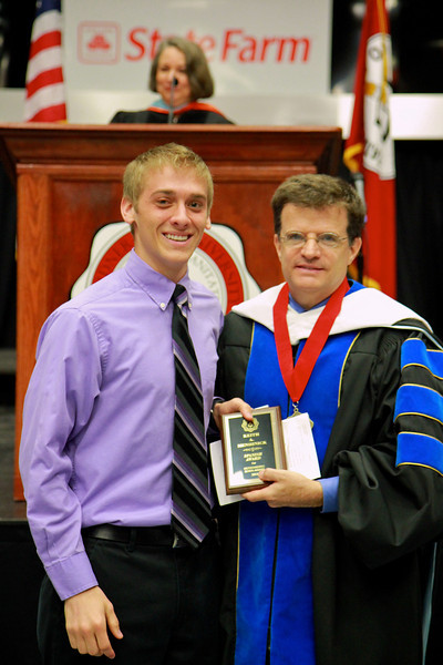 56th Annual Academic Awards Day Ceremony. Spanish Award: Keith Andrew Menhinick