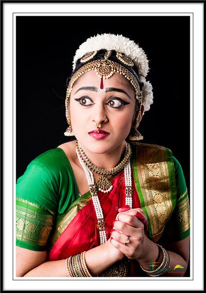 Nikitha's Pre-Arangertam Portraits 2017
