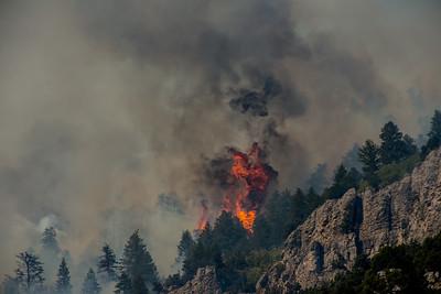 Aug 8-15 2013  Blacksmith Fork Millville fire