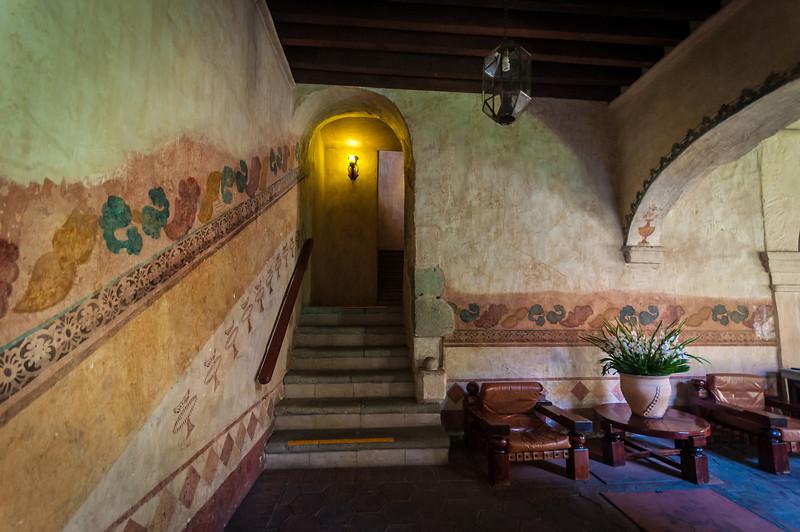 Ex monastery of San Catalina, now the Hotel Camino Real