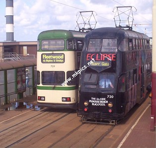 Blackpool Trams- Summer 2004