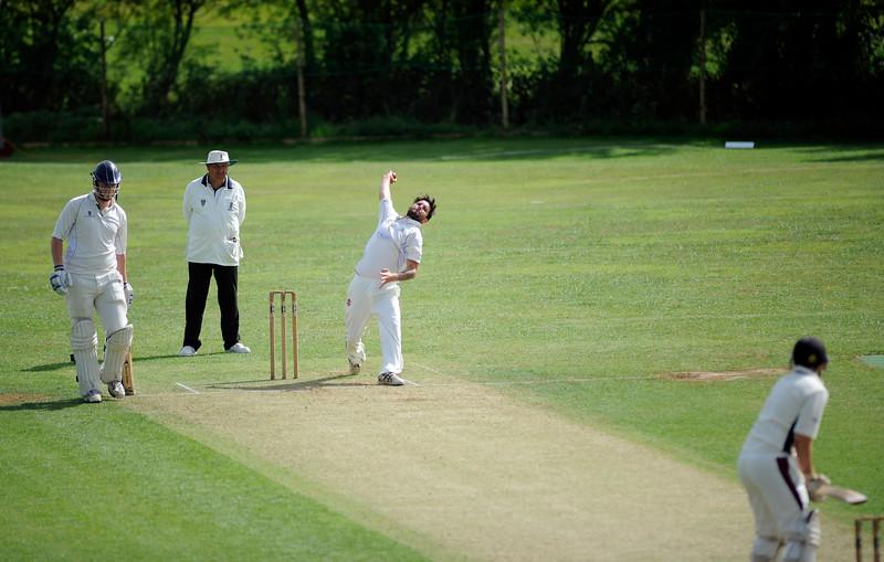 Dorset Cricket League First XI match between Martinstown CC v Broadstone CC at Lower Ashton Farm, DORCHESTER, ENGLAND