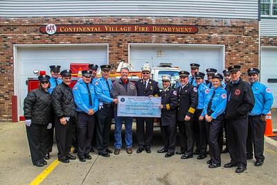 10-21-18 Grant Check, CVFD Fire House, Photos By Bob Rimm