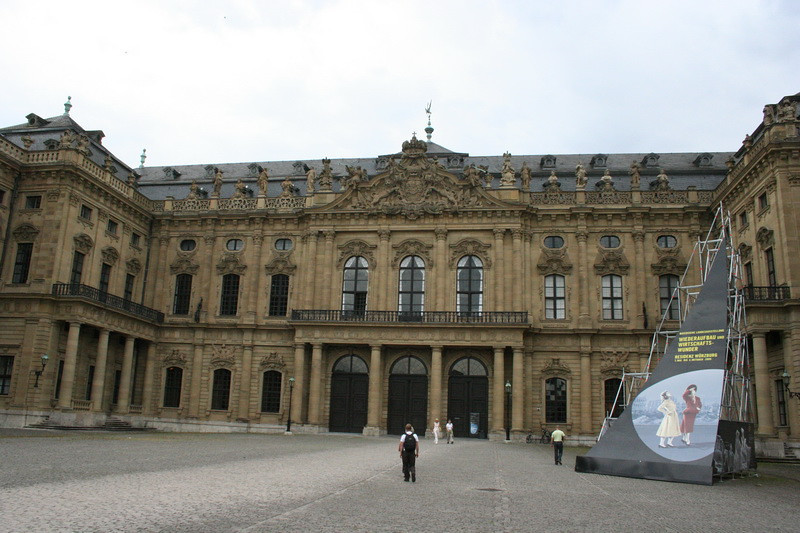 Wurzburg, Germany - Residenz Museum