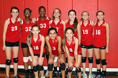 7th grade girls team pictures