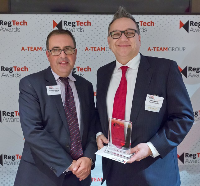 RegTech Award for Most Innovative Digital Identity Solution, Sean Beals, Thomson Reuters
