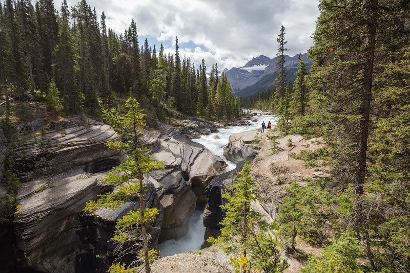 Mistaya Canyon - Icefields Parkway