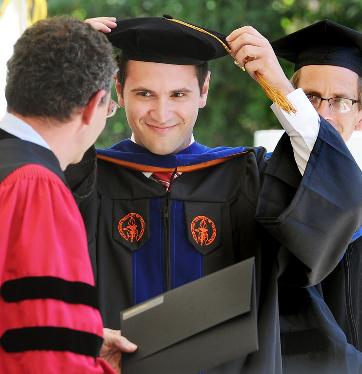 . 120th Annual Commencement at California Institute of Technology Friday, June 13, 2014.(Photo by Walt Mancini/Pasadena Star-News)