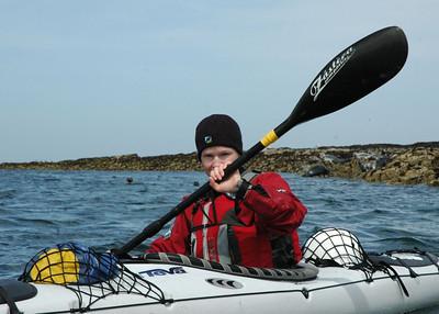 Sea Kayaking The Farne Islands
