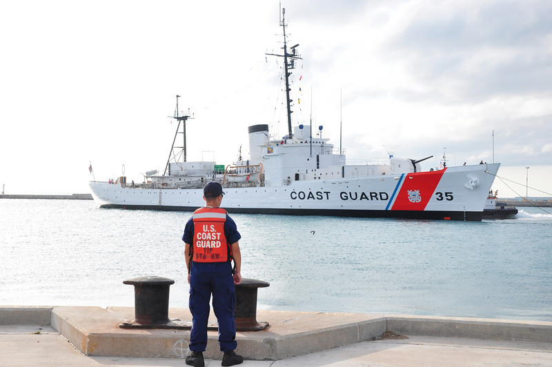 USCG Cutter Ingham.  This 327 foot National Historic Landmark arrived in Key West in November 2009 and will serve as a floating military museum.