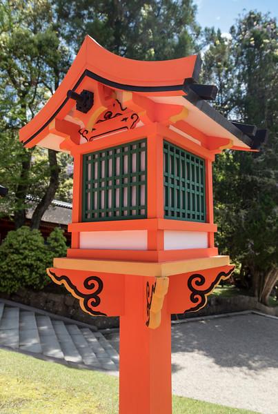 Wooden lantern, Nara