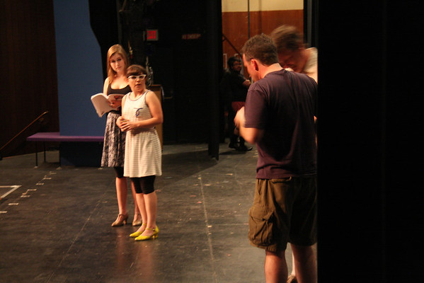 How to Succeed Acts I & II runthroughs, July 8&9