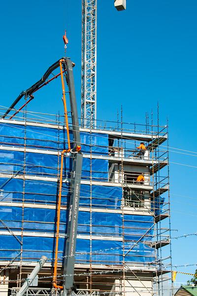 Building progress 98. At 47 Beane St. Gosford. July 2018.