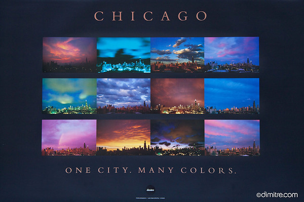 Chicago One City Many Colors Series