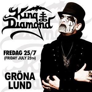 KING DIAMOND - Gröna Lund 25/7 2014