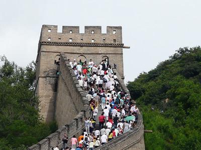 bus trip to the Great Wall at Badaling